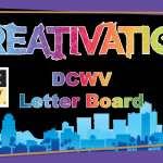 DCWV Letter Board - Creativation 2017