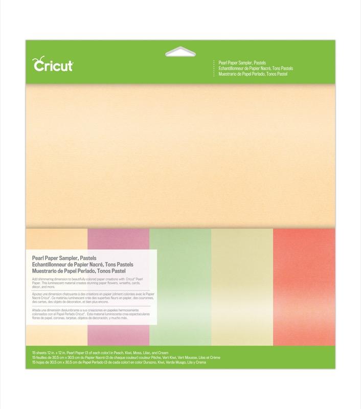 Pearl Paper Sample - Pastels