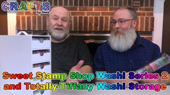 Sweet Stamp Shop Washi Series 2 & Totally-Tiffany Storage