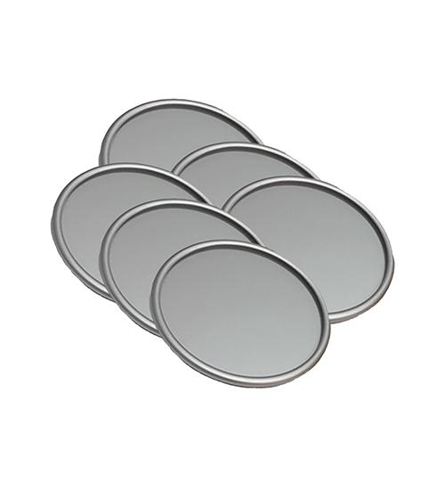 Alu-Rim® Silver Coasters