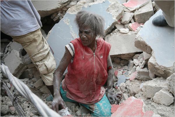 Земетресението в Хаити