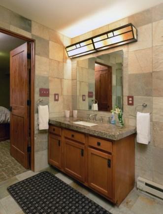Bathroom Lower Level - The Craftsman Lodge