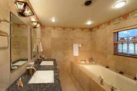 Master Bath Main Floor - The Craftsman Lodge