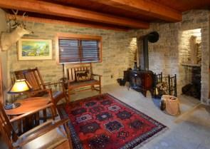Sitting Room Main Floor - The Craftsman Lodge