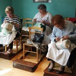 Women who Embroider the Air