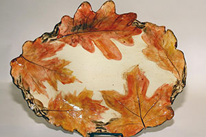 Leaf Plate - Gatlinburg Craftmens Fair