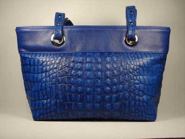 ShoTan leather bag in blue