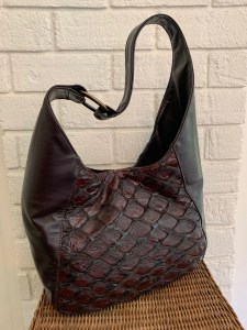 Bev's Bags - leather from a fish