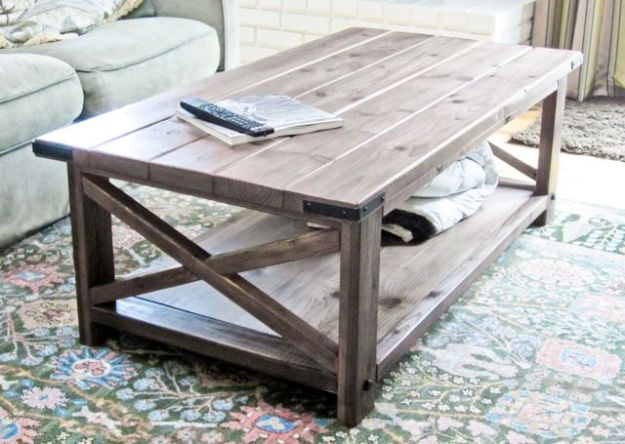 15 best diy farmhouse coffee table ideas - craftsonfire