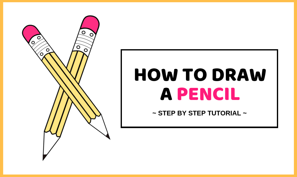 How To Draw A Pencil Easy Pencil Drawing Tutorial Craftsonfire