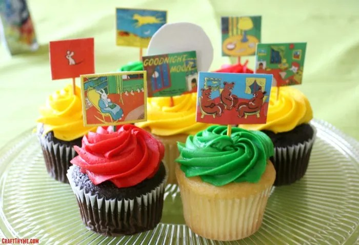 Details of how to create your own Goodnight Moon birthday Party