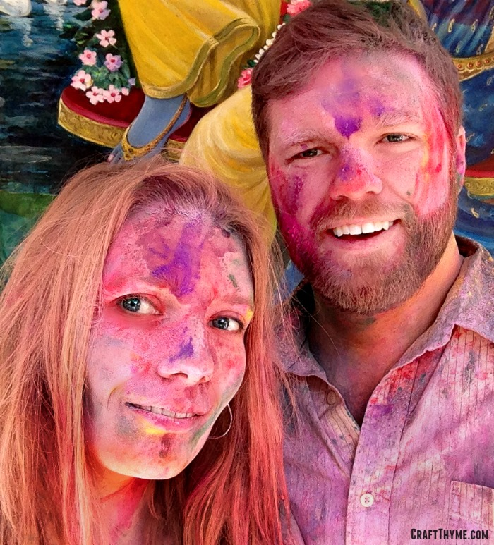 Our trip to Holi in India: Painted in Colors