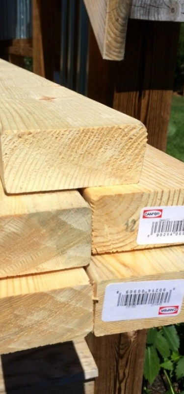 Picture of lumber which leads to: Why buy another useless item when you can have the lasting satisfaction of making your own? Find true joy in crafting and DIYing with these beginner and intermediate tutorials.