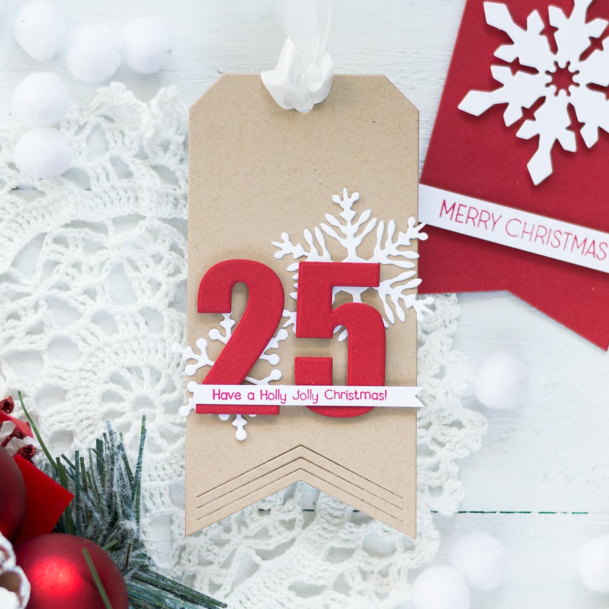 Christmas Tags. Card by Svitlana Shayevich