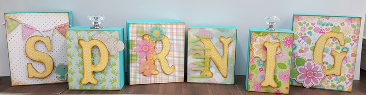 SPRING Blocks - Craft-a-Palooza