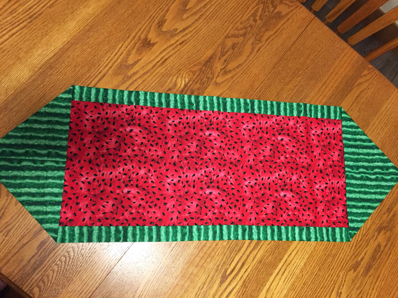 Sew | quick 10 minute table runner youtube.