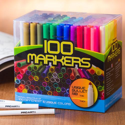 100 Color Set