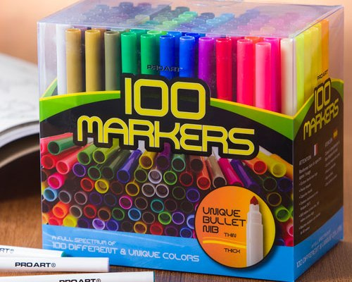 100_markers