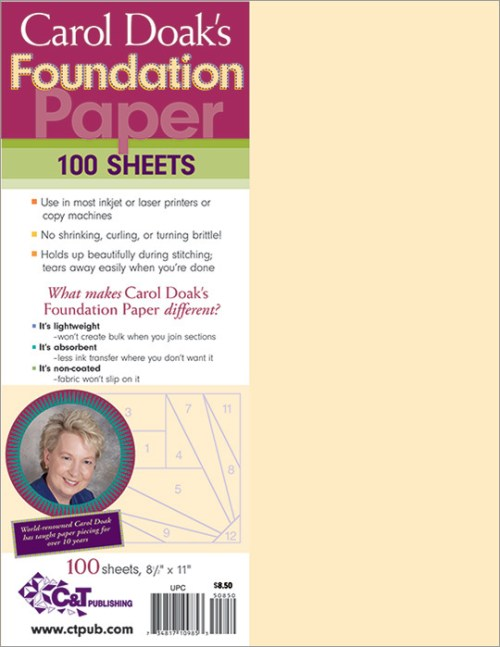 Buy Carol Doak's Foundation Paper at Craft Warehouse