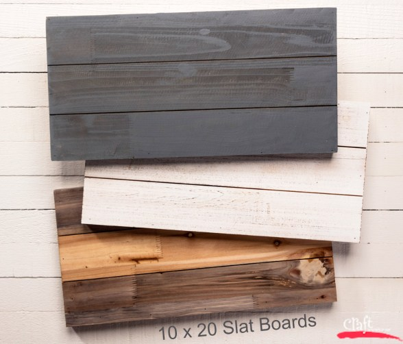 10x20 Slat Boards can be used for so many projects