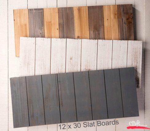 12x30 Slat Boards