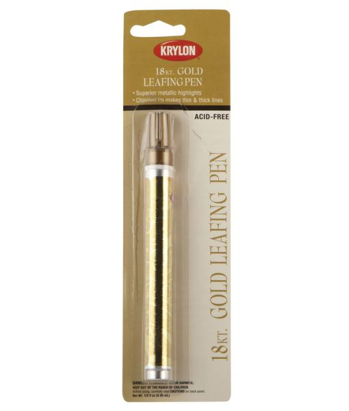 Gold, SIlver and Copper Leafing Pen available at Craft Warehouse