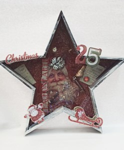 Christmas Wood Star