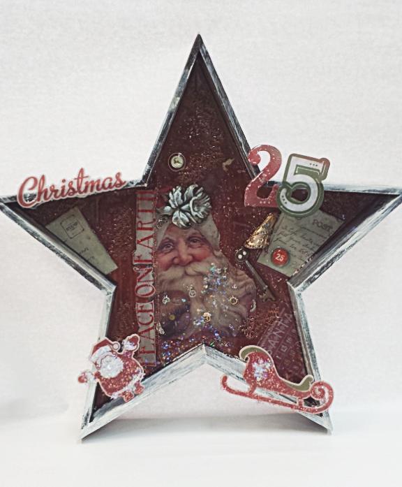 Christmas Wood Star