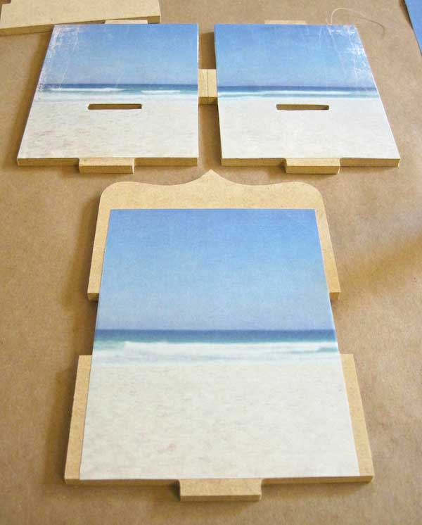 A Beach in a Box- Shadow Box