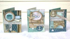 Kaisercraft Sandy Toes Cards