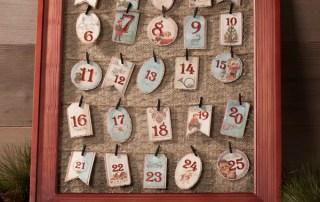 My Minds Eye Barnwood Frame Advent Countdown