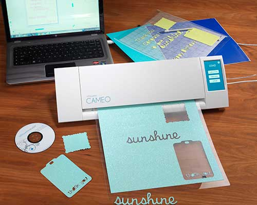 Silhouette Cameo Touch Screen