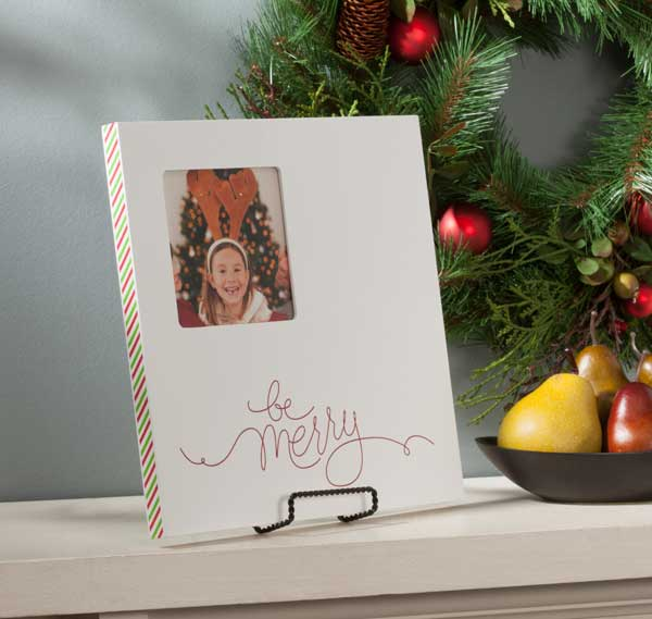 Holiday Craft Frame