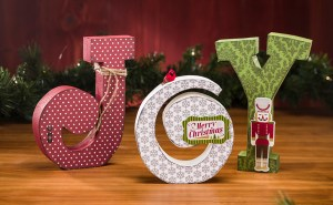 "Echo Park Wood ""JOY"" Letter Set"