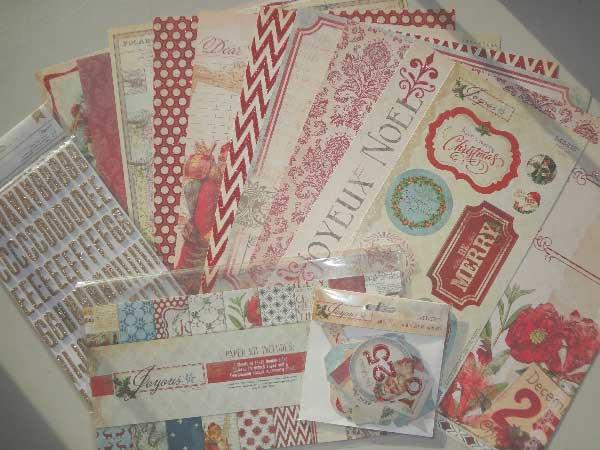 Merry Memories - paper