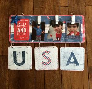 "Doodle Bug ""Patriotic Parade"" Mini Sign"
