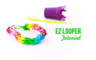 EZ Looper Rubber Band Bracelet Tutorial