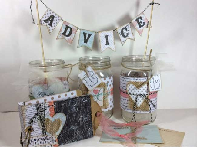Anniversary Advice Jar Set