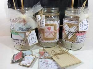 Anniversary Advice Jar Set