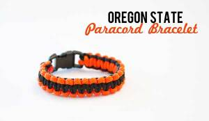 Oregon State Paracord Bracelet