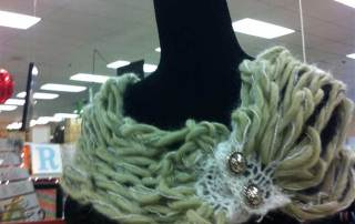 Knitted Cowl Wrap