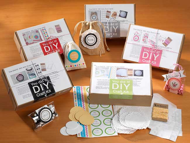Srm stickers you did it diy craft kits craft warehouse for Craft kits for adults to make