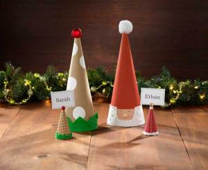 Paper Mache Elf Cone