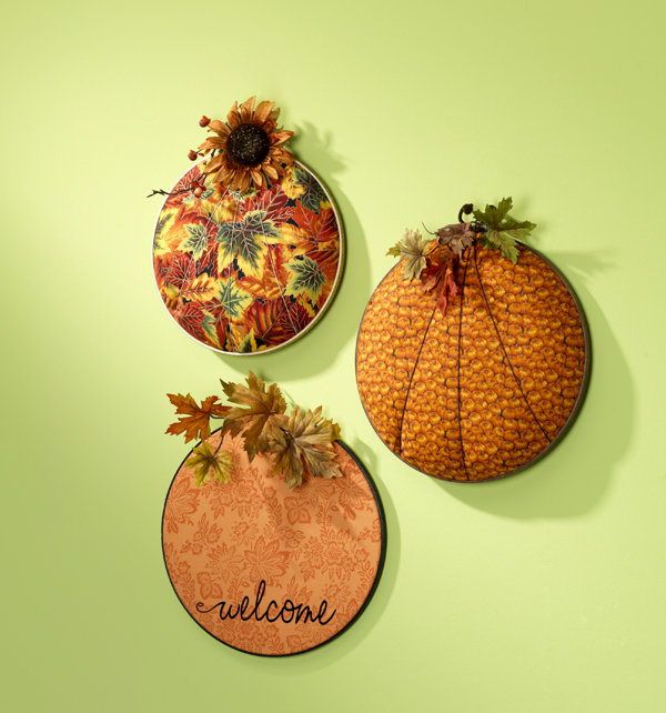 Fall Pumpkin Hoops