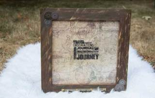 Tim Holtz Map Frame