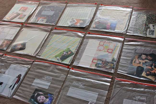 How to Prepare for a Scrapbooking Crop
