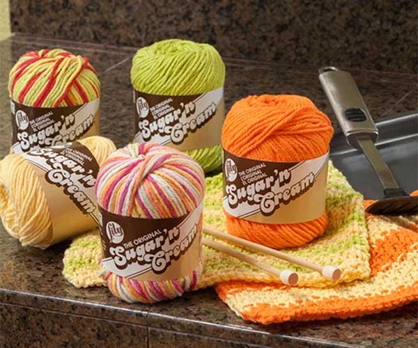 Sugar N Cream Dishcloth Cotton Yarn