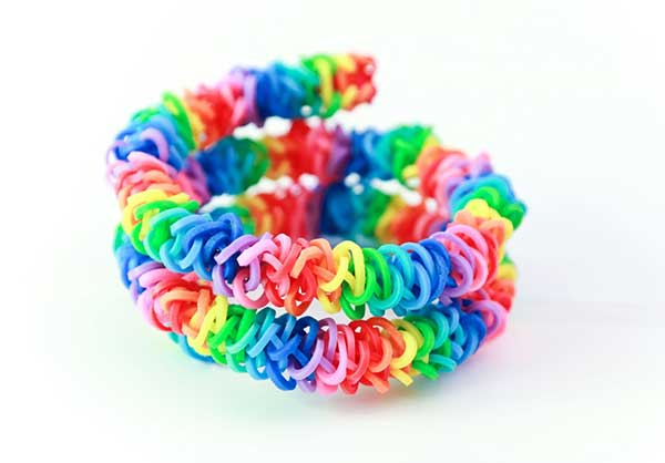 rubber rubberband crazy six diamond images bracelet on band bracelets color pattern pinterest loom best rainbow