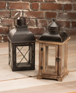 Buy Wood and Metal Lanterns for Home Decor at Craft Warehouse