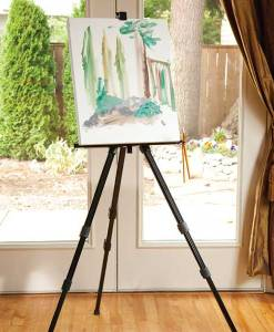 Aluminum Field Easel with Case